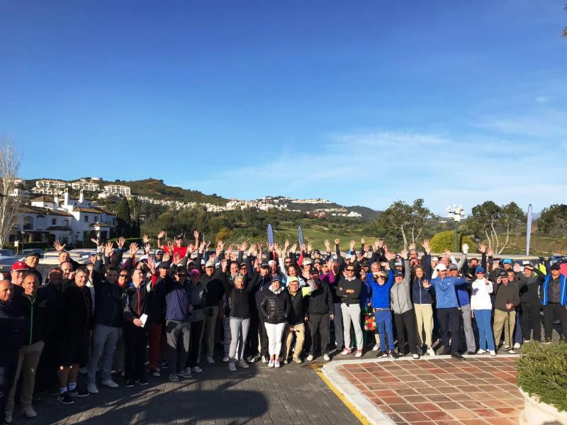 Participantes Summum golf 2018 en La Cala Resort