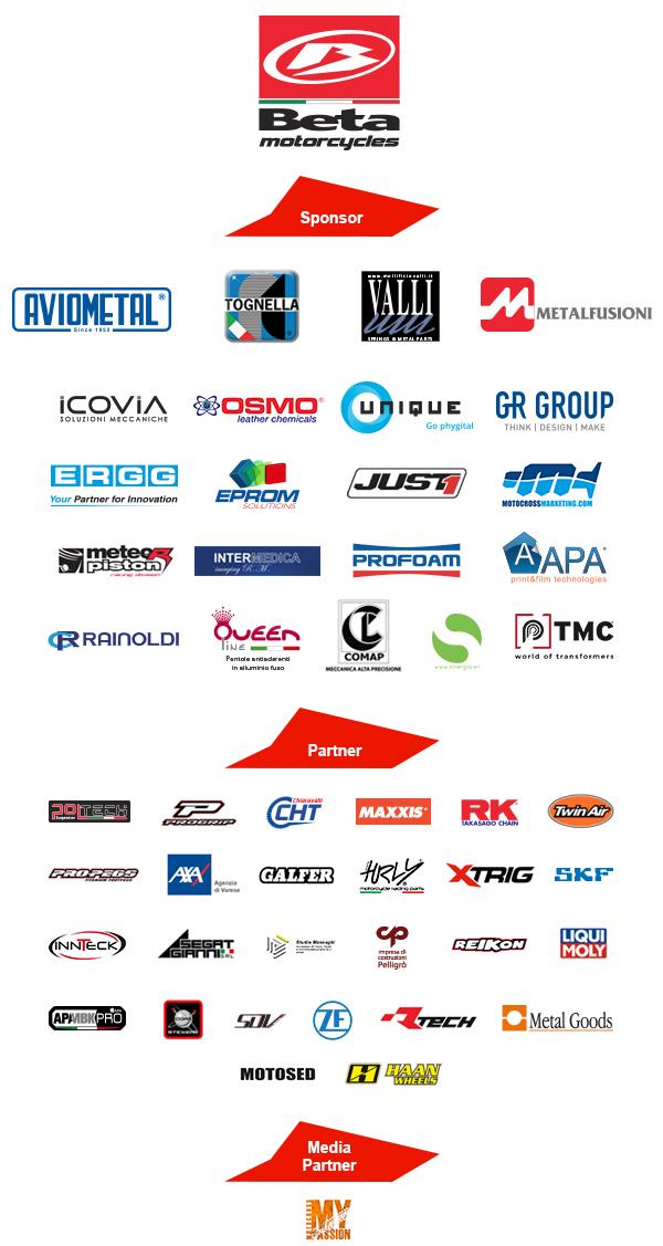 Beta SDMCorse Mx Team Sponsor & Partner