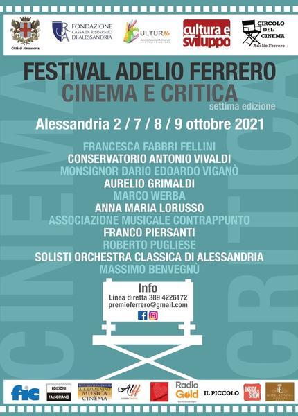 Locandina Festival Adelio Ferrero 2021