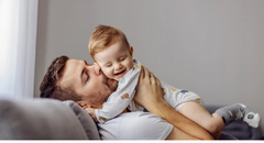 Two-Thirds of Recent First-Time Fathers Took Time Off After Birth