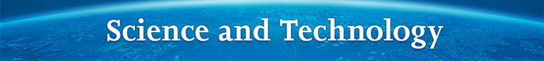 Science and Technology Banner graphic