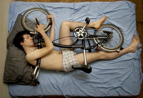 Sonno e ciclista